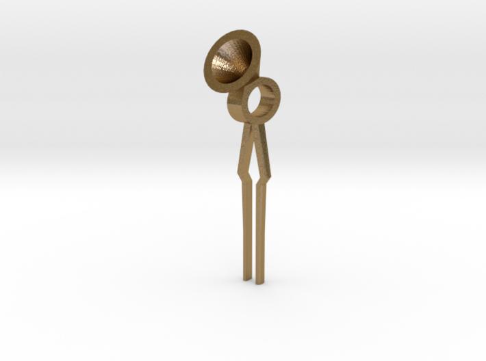 Wick Tool for Oil Lamp 3d printed