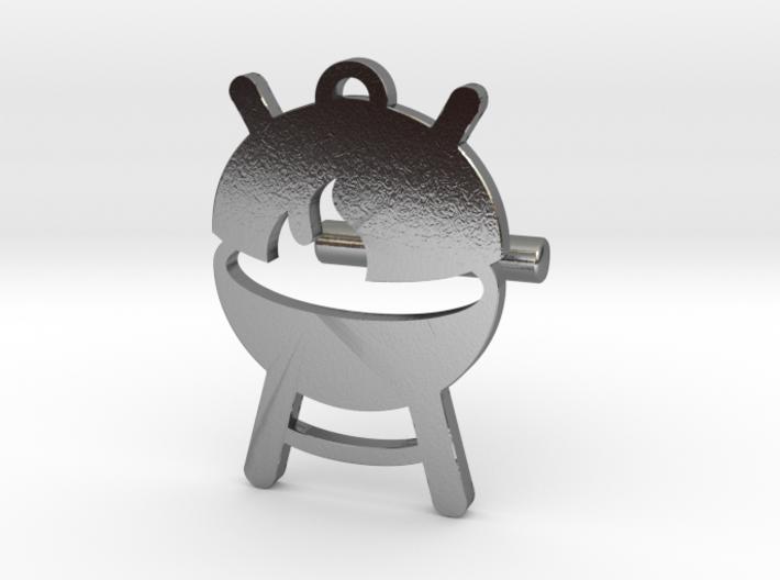 BABBQ Cufflink v2 3d printed