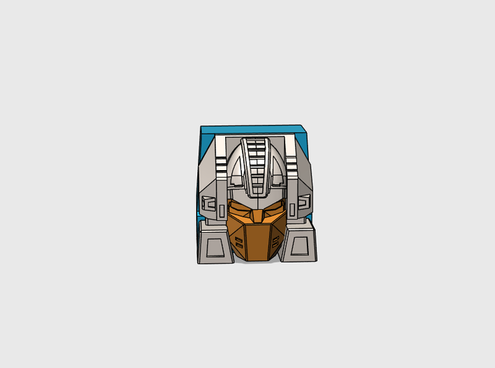 Notorious Weaponmaster's G1 Toy Face 3d printed
