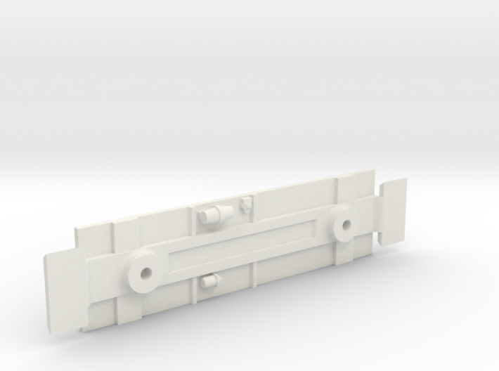 D&RGW Caboose 1400Series Chassis 3d printed
