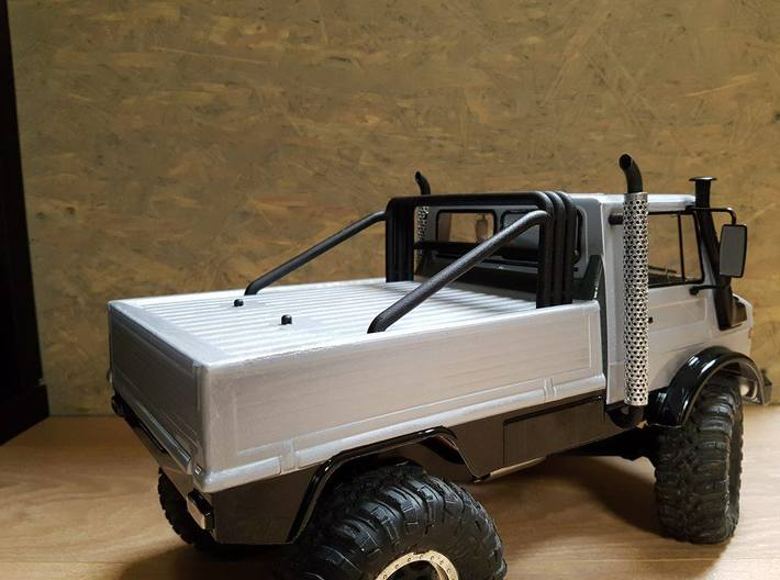 Unimog 425 right exhaust  3d printed