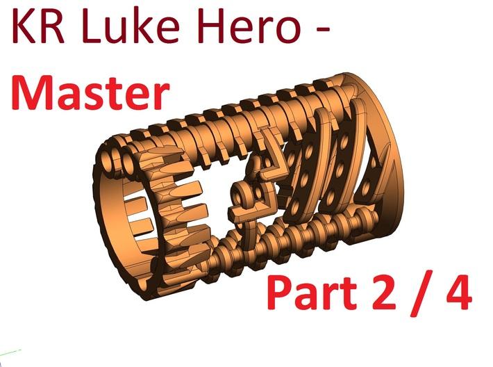 KR Luke Hero -  Master Chassis Part2 - CC Shell 3d printed