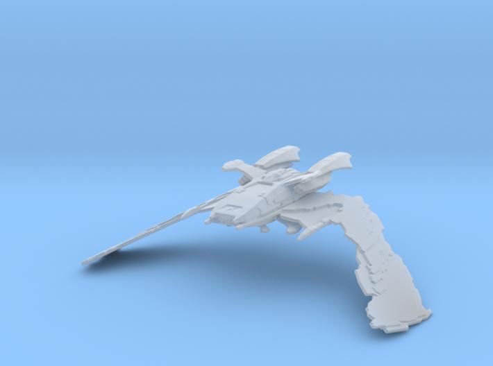 Reman Warbird 'Scimitar' 1/15000 3d printed