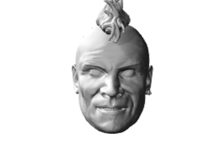 Wez. mad max road warrior 1/6 headsculpt 3d printed