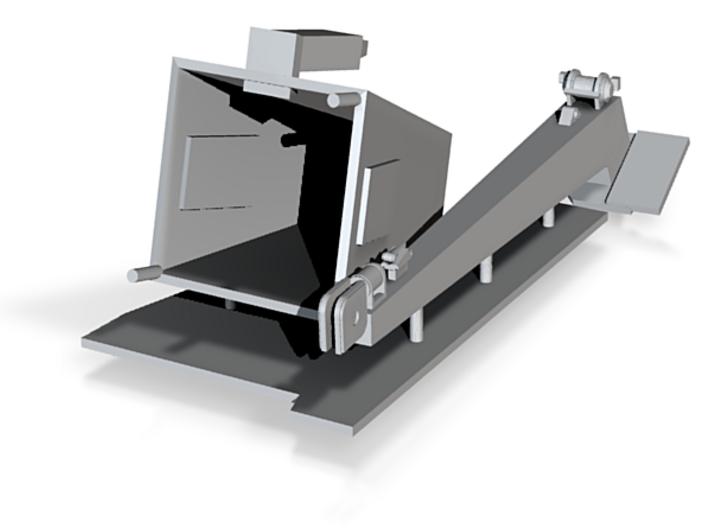 1/120 Bruke Crane - Square 3d printed