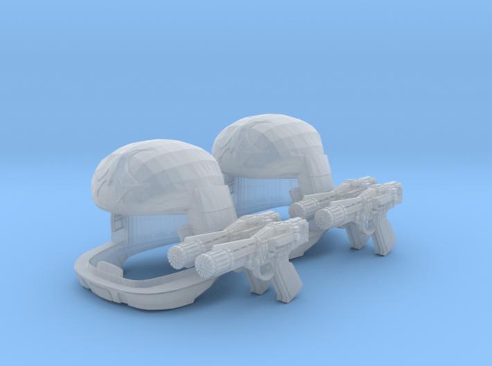 Viper Pilot Patrol (Battlestar Galactica TOS) 1/18 3d printed