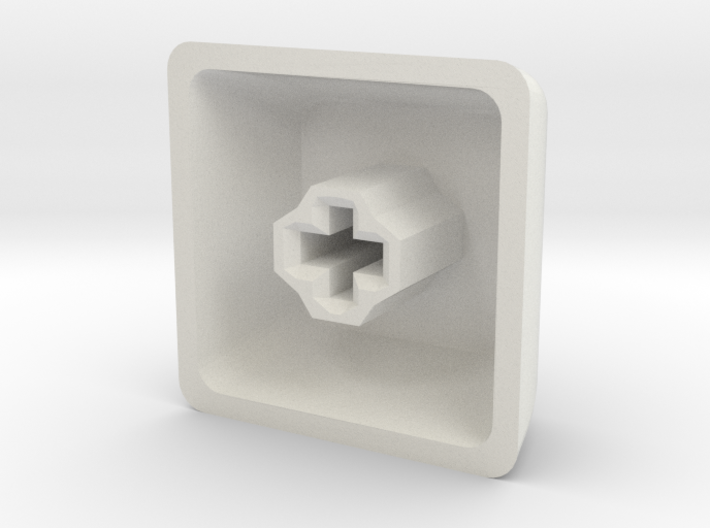 Customisable Cherry MX keycap (DSA Profile) 3d printed
