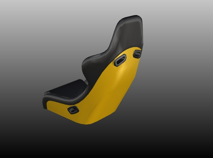 Race Seat RType 5 - 1/10 3d printed