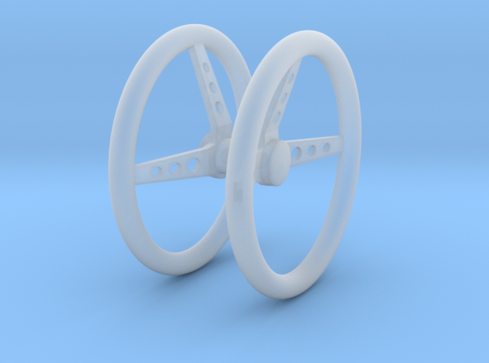 Steering Wheel V3 Pair 1/25 3d printed
