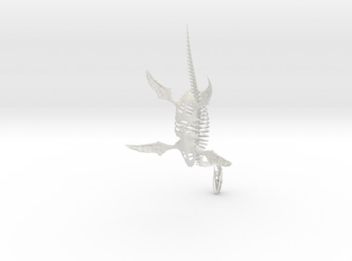 Loch Ness Monster Skeleton 3d printed