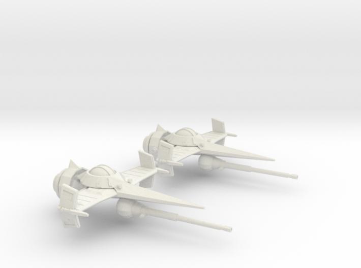 Swordfish II (30mm) 3d printed