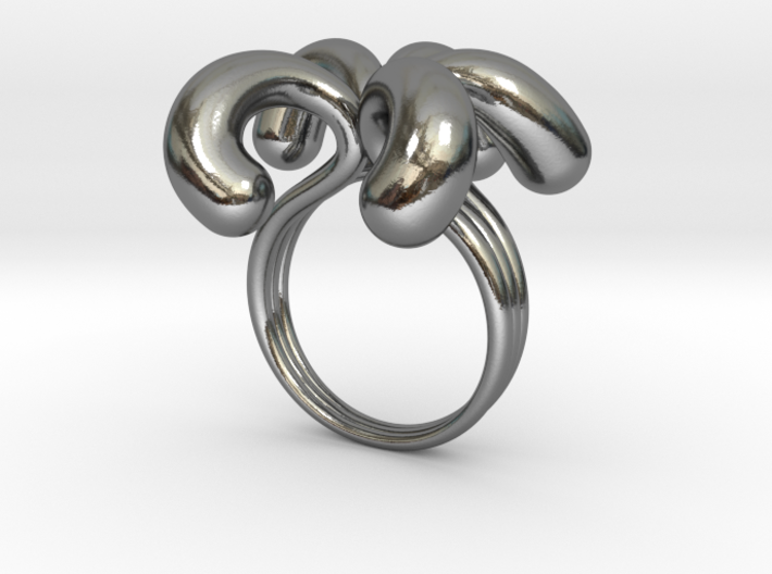 Water Drops Ring (From $19) 3d printed