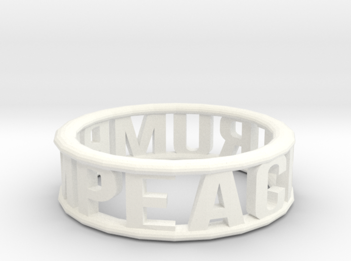 Impeach Trump Bangle 3d printed