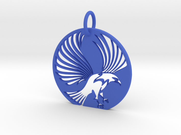 Eagle Keychain 3d printed