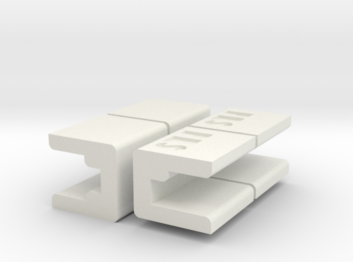 PRHI Space Walls Connector Type B 4x 3d printed