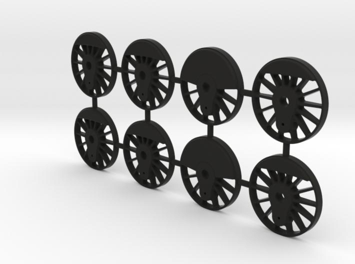 TH&B Driving Wheel Centres Set 1-32 Mk1 3d printed