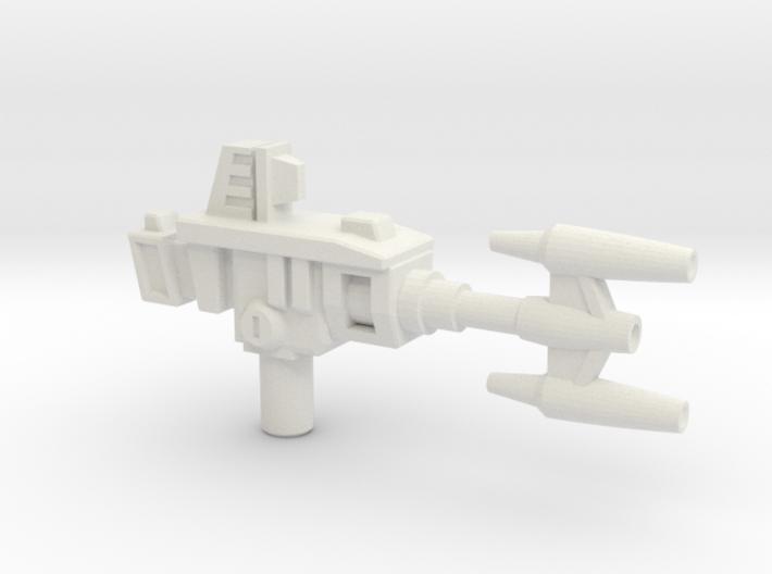 Bombshell's Gun, 5mm 3d printed
