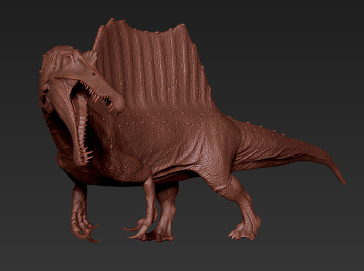 Spinosaurus Back.part (Total 70cm / 1:20) 3d printed