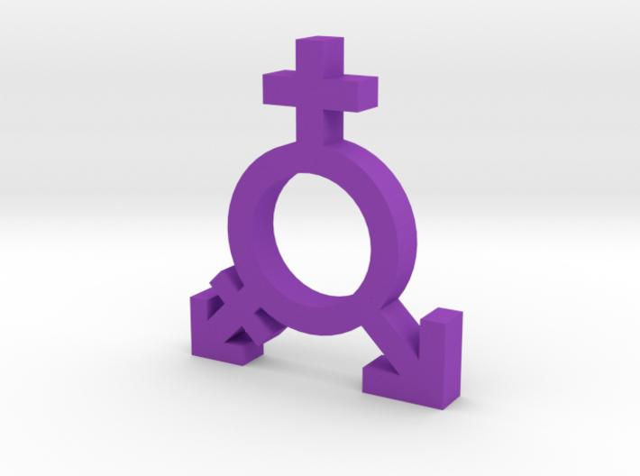 Feminism Symbol 3d printed