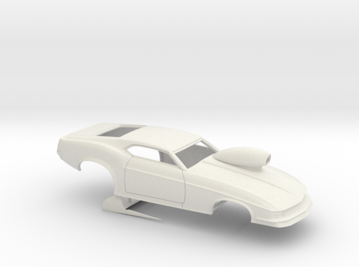 1/16 1970 Pro Mod Mustang With Scoop 3d printed