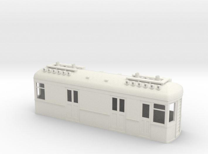 On30 Gas Electric Boxcab 3d printed