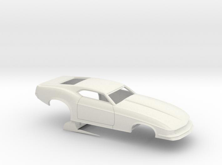 1/18 1970 Pro Mod Mustang No Scoop 3d printed