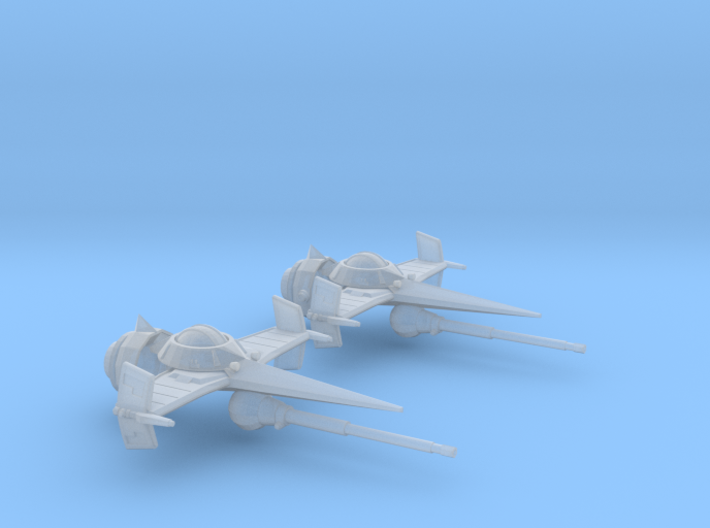 Swordfish II (20MM) 3d printed