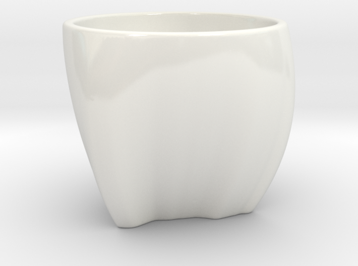 India in a cup 3d printed