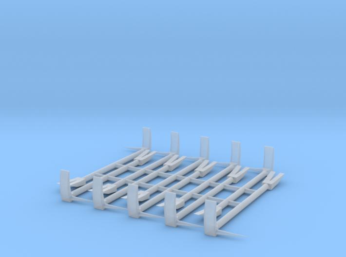 1/16 Halligan tool 3d printed