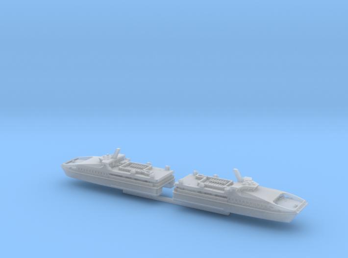 HSC Wight Ryder I & II (1:1200) 3d printed