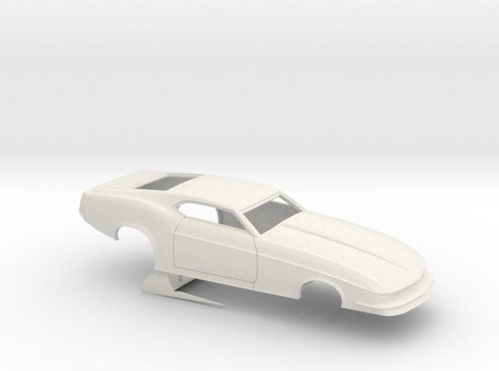1/25 1970 Pro Mod Mustang No Scoop Sm WW 3d printed