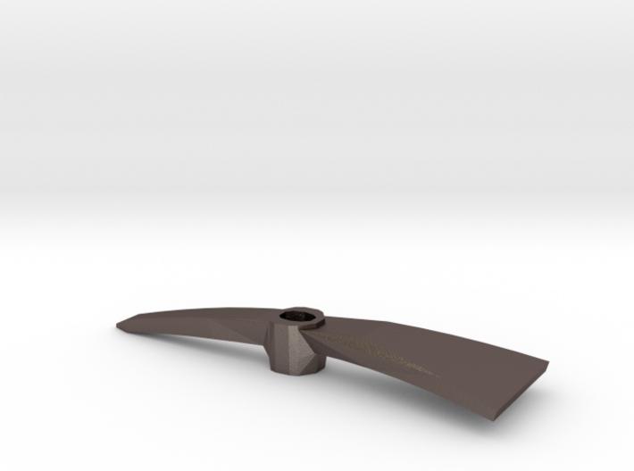 1:6 scale Pickaxe Mattock head 3d printed