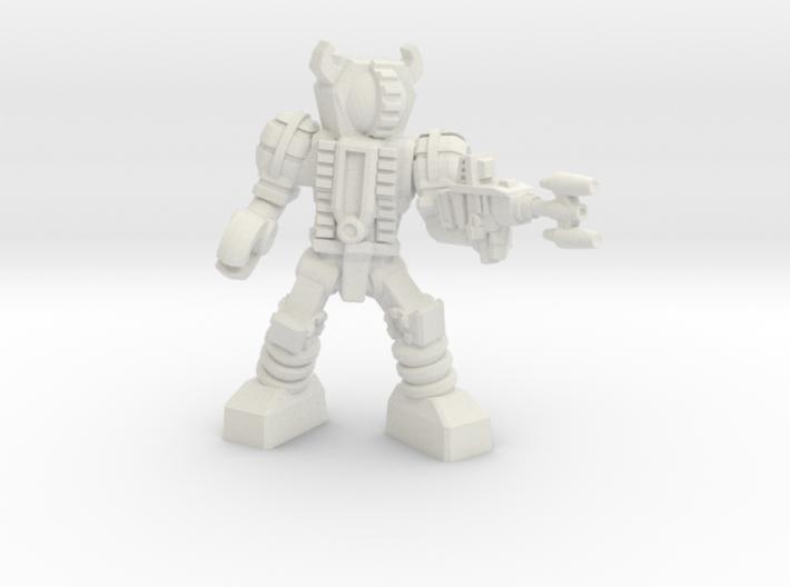 Waruder, Kuwagatrer Trooper, Firing, 35mm Mini 3d printed