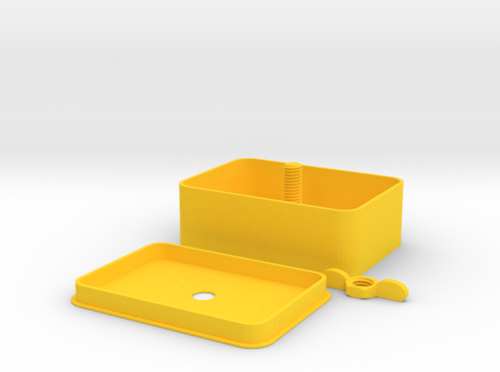 Delux Tobacco Tin 3d printed