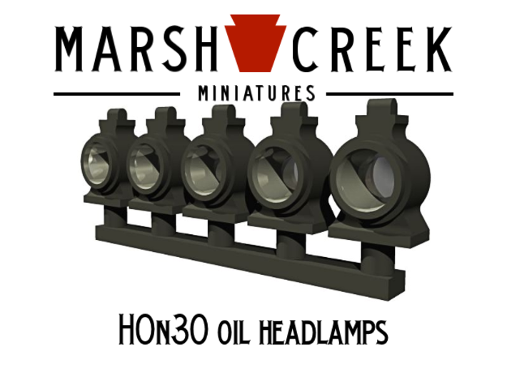 HOn30 Locomotive Oil Lamp 3d printed