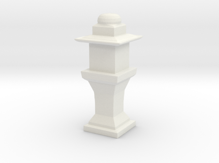 Printle Thing Garden Lamp 1/24 3d printed
