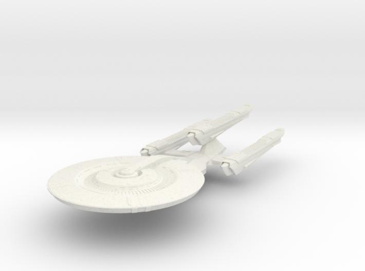 BattleNash Class Refit DreadnoughtCruiser 3d printed