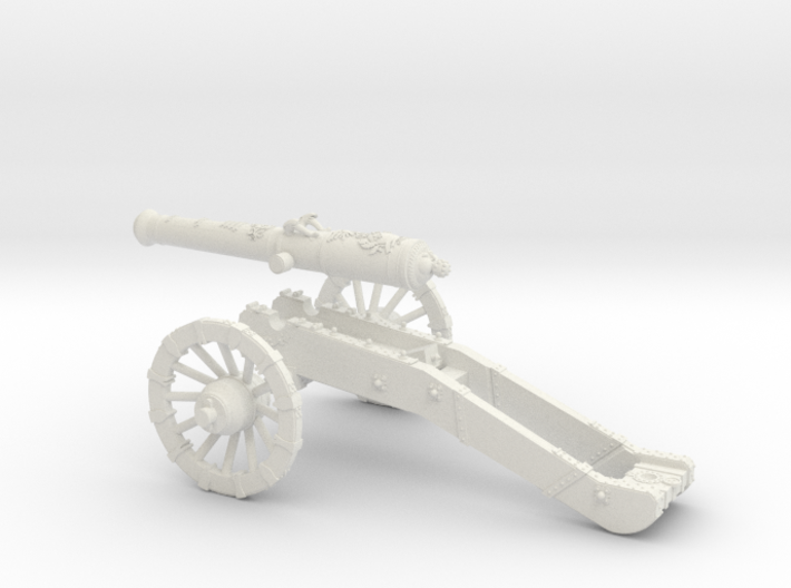 AF French cannon 24 Pounder 7 Years War 28mm 3d printed