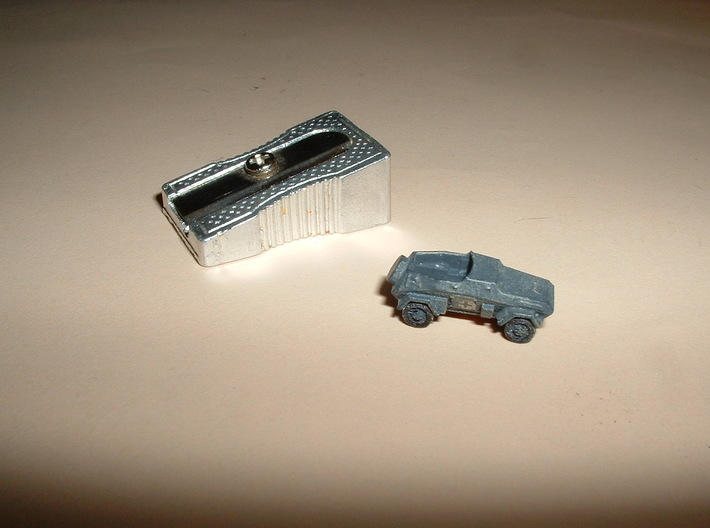 sdKfz 247B Set of 5 1/285 6mm 3d printed