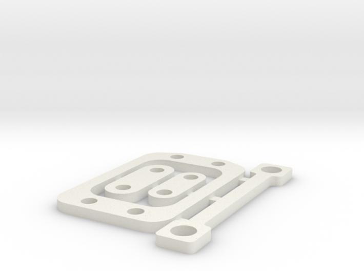 RC10B6 2mm Gear Box Spacer Set 3d printed
