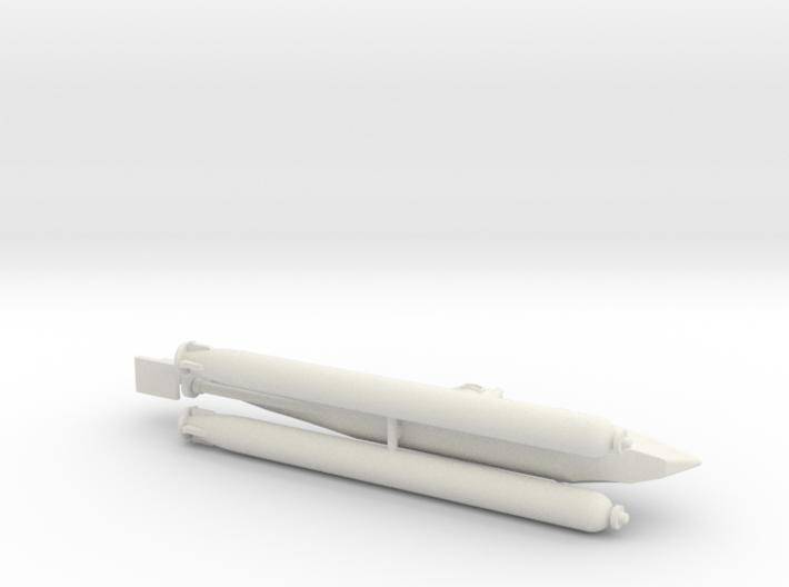 "German Midger Submarine ""Biber"" 1/144 3d printed"