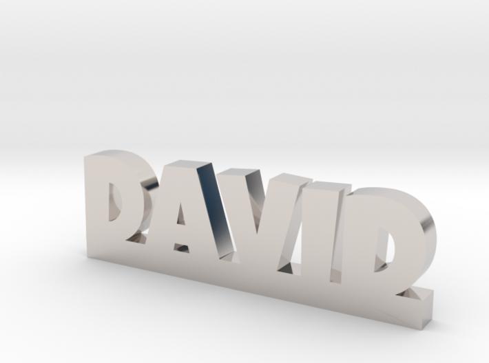 DAVID Lucky 3d printed