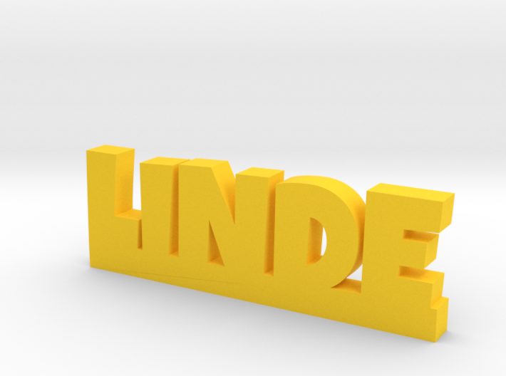 LINDE Lucky 3d printed