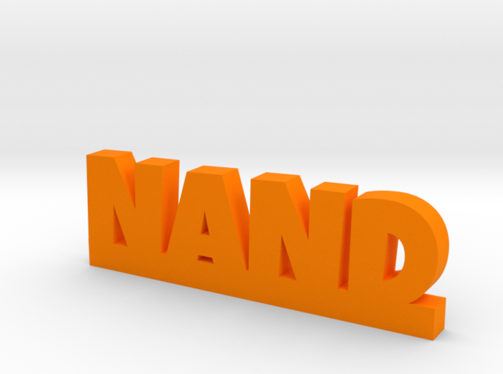 NAND Lucky 3d printed