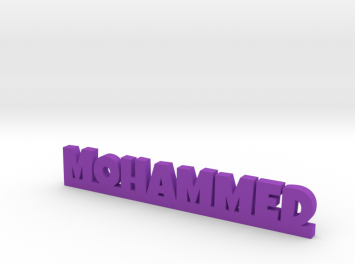 MOHAMMED Lucky 3d printed