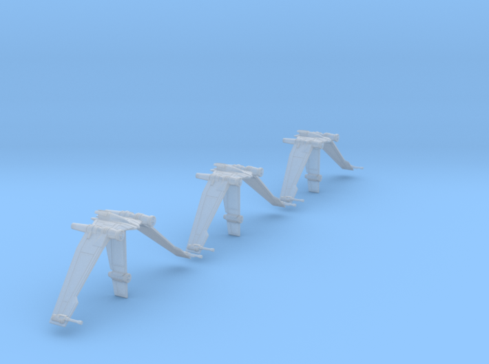 V19 Torrent B-wing style mount-3pack 3d printed