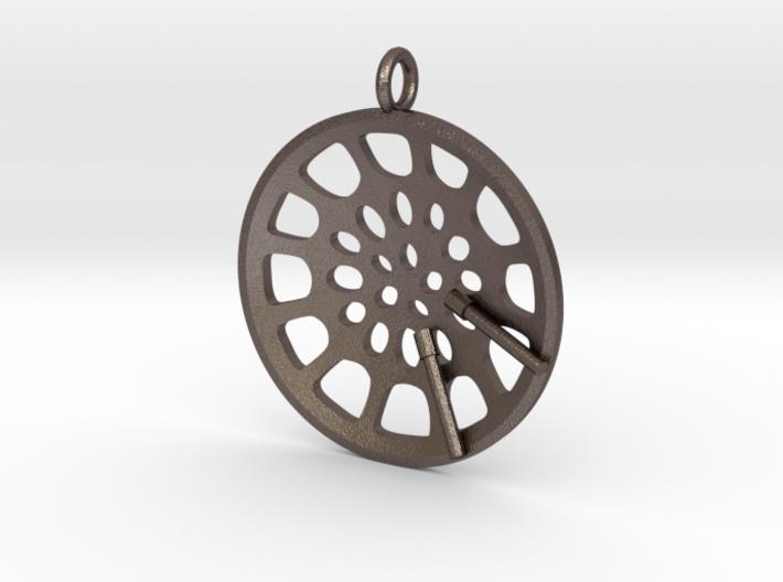"Low Tenor ""Essence"" steelpan pendant 3d printed"