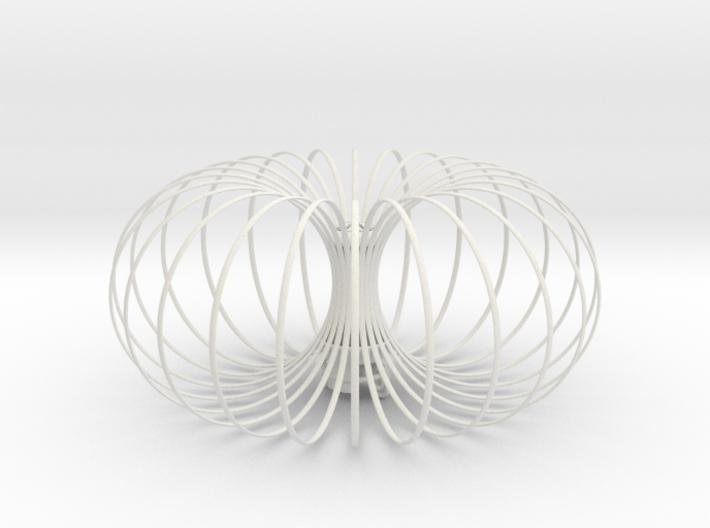 Torus Chandelier pendant lamp 30cm 3d printed