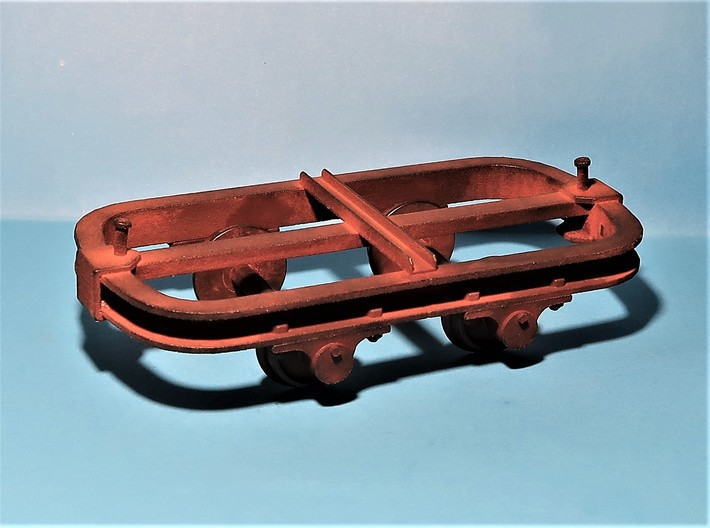 Chassis wagonnet - 7/8n2 3d printed