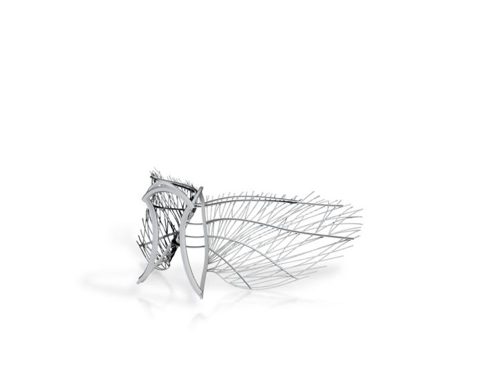 Original Angel Wings 3d printed